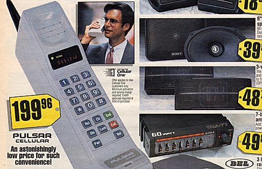 Pulsar Portable cellular phone