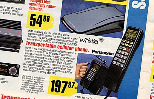 Panasonic Transportable cellular phone