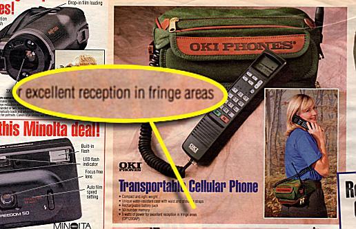 Oki Transportable Cellular Phone
