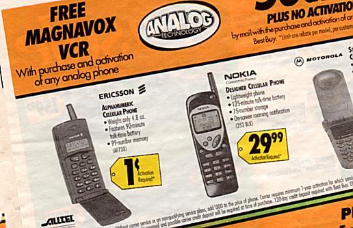 Ericsson Alphanumeric Phone