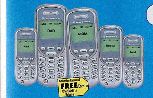 Motorola Digital PCS Phone
